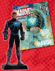 Classic Marvel Figurine Collection #074 Havok X-Men Eaglemoss Publications